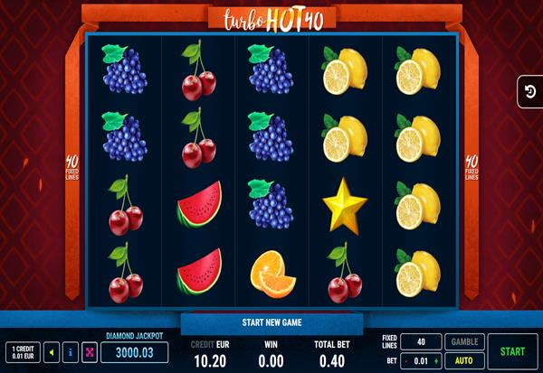 Turbo Hot 40 777 Slots Bay game
