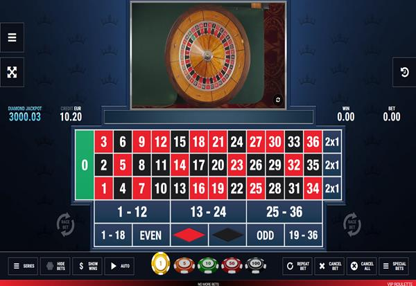 VIP Roulette 777 Slots Bay game