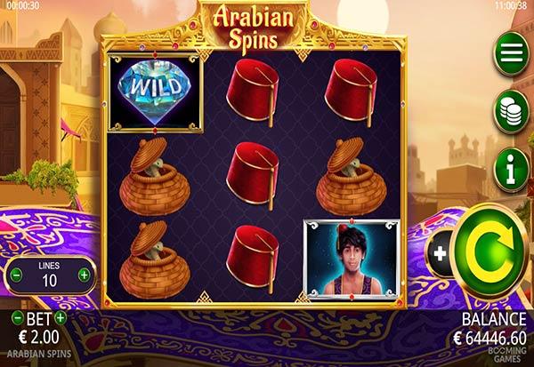 Arabian spins 777 Slots Bay game