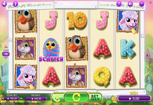 Baby Bloomers 777 Slots Bay game