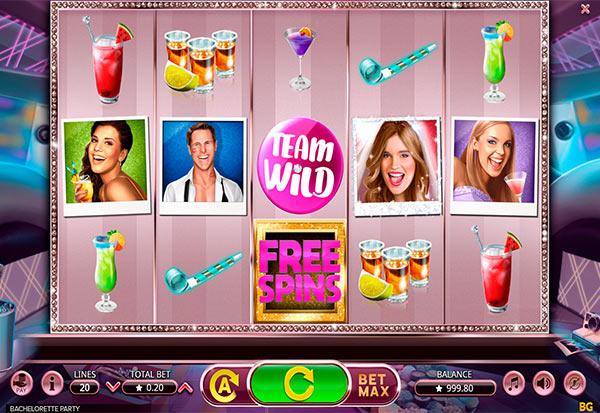 Bachelorette Party 777 Slots Bay game
