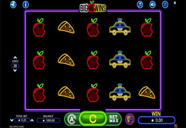 Big Apple Wins 777 Slots Bay game