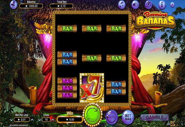 Booming Bananas 777 Slots Bay game