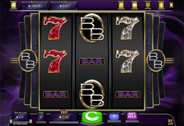 Booming Bars 777 Slots Bay game