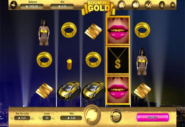 Booming Gold 777 Slots Bay game
