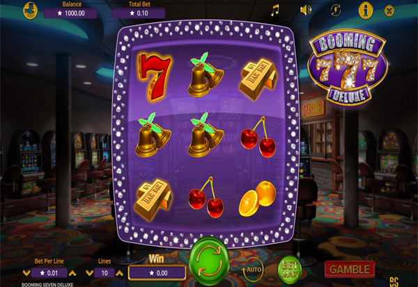Booming Seven Deluxe 777 Slots Bay game