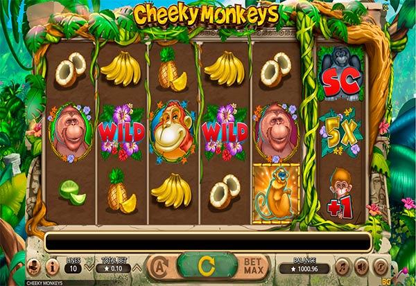 Cheeky Monkeys 777 Slots Bay game