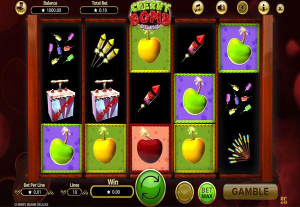 Cherry Bomb Deluxe 777 Slots Bay game