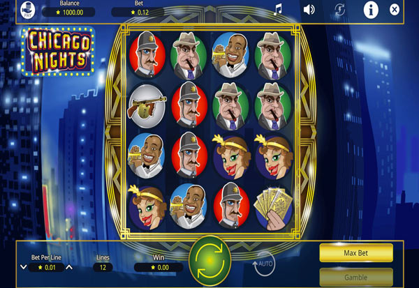 Chicago Nights 777 Slots Bay game