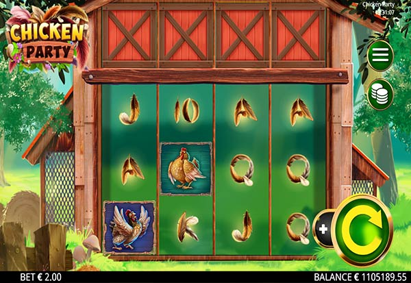 Chicken Party 777 Slots Bay game