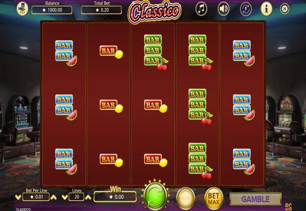 Classico 777 Slots Bay game