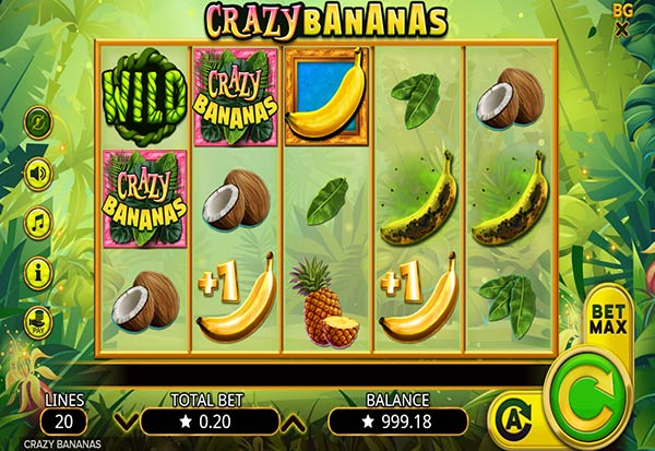 Crazy Bananas 777 Slots Bay game