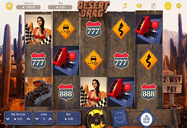 Desert Drag 777 Slots Bay game
