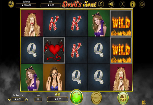 Devil´s Heat 777 Slots Bay game