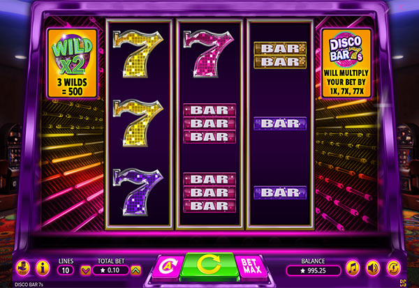 Disco Bar 7s 777 Slots Bay game