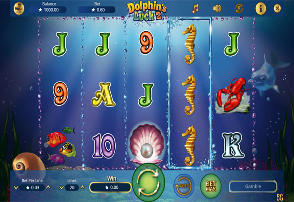 Dolphin´s Luck 2 777 Slots Bay game
