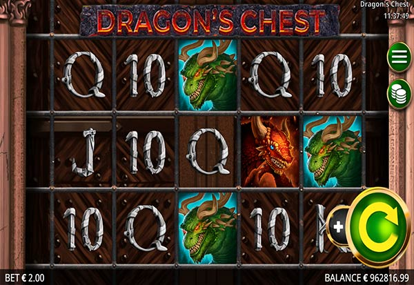 Dragon's Chest 777 Slots Bay game