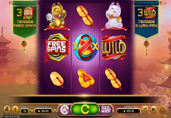 Feng Shui Kitties 777 Slots Bay game