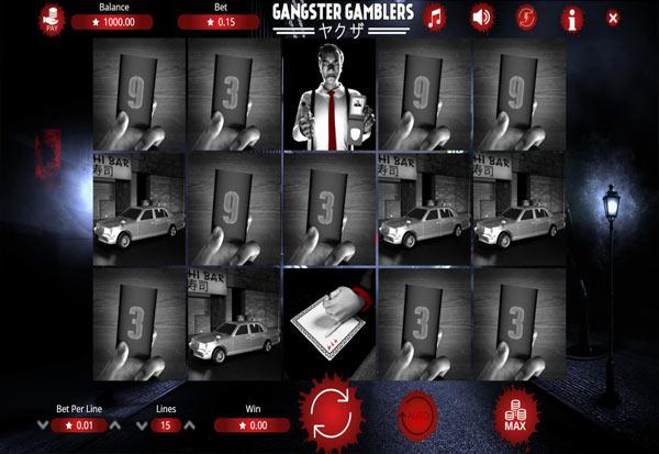 Gangster Gamblers 777 Slots Bay game