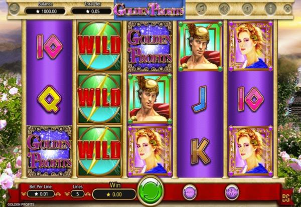 Golden Profits 777 Slots Bay game