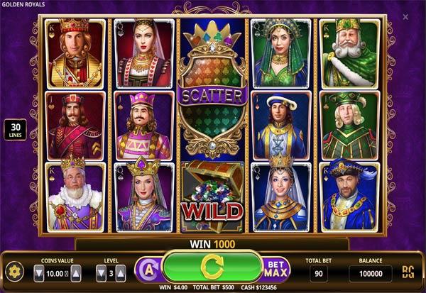 Golden Royals 777 Slots Bay game