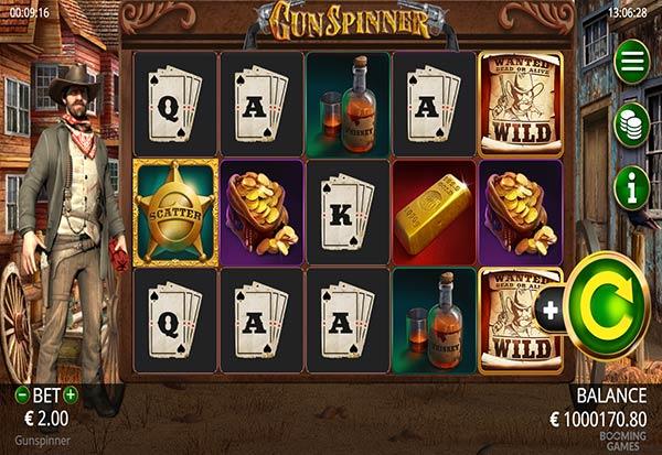 Gunspinner 777 Slots Bay game