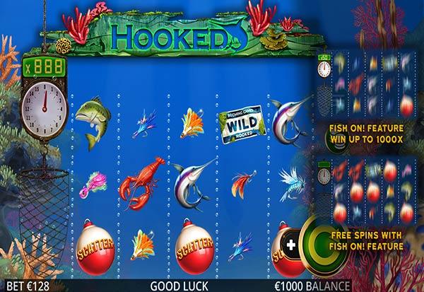 Hooked 777 Slots Bay game