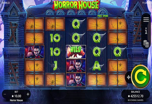 Horror House 777 Slots Bay game