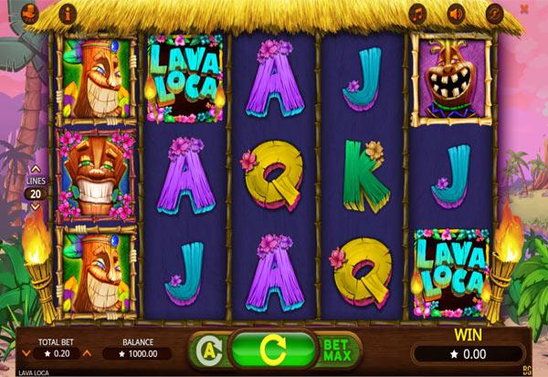 Lava Loca 777 Slots Bay game