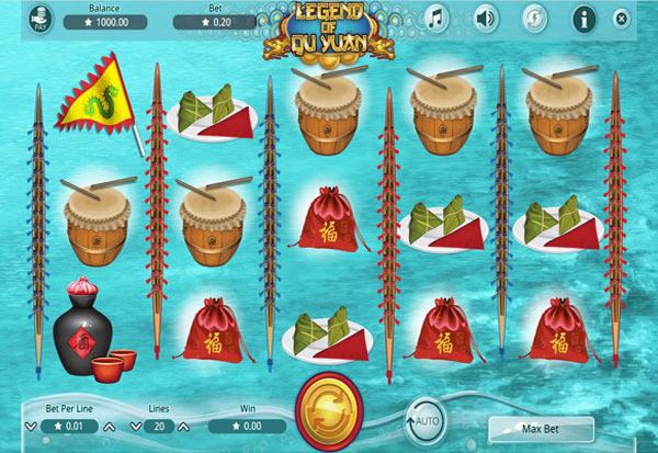Legend of Qu Yuan 777 Slots Bay game
