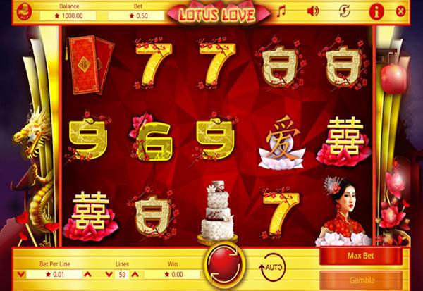 Lotus Love 777 Slots Bay game