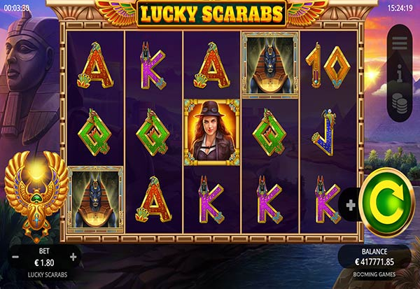 Lucky Scarabs 777 Slots Bay game