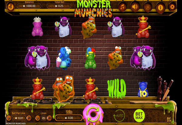 Monster Munchies 777 Slots Bay game