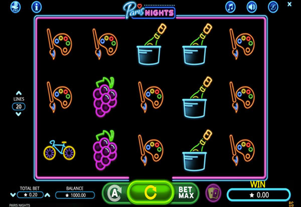Paris Nights 777 Slots Bay game