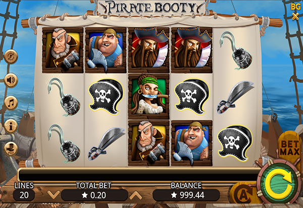 Pirate Booty 777 Slots Bay game
