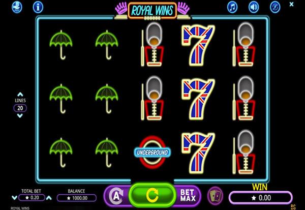 Royal Wins 777 Slots Bay game