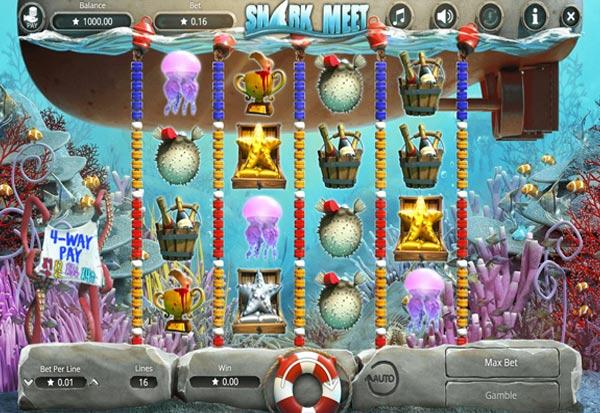 Shark Meet 777 Slots Bay game