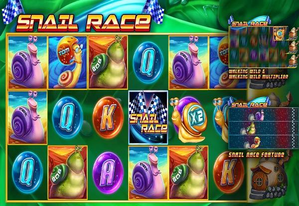Snail Race 777 Slots Bay game