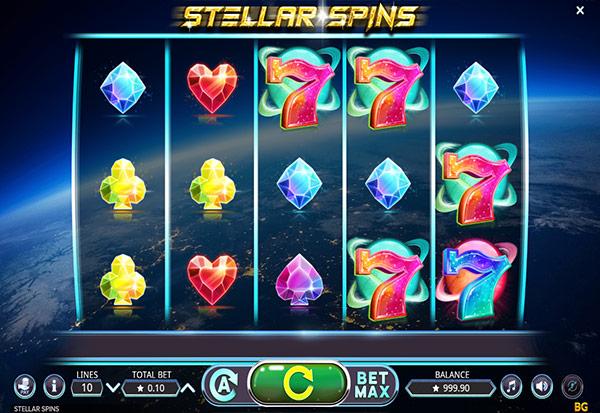 Stellar Spins 777 Slots Bay game