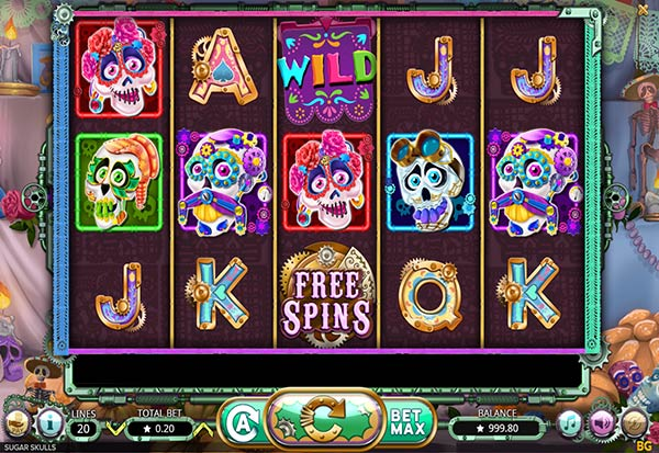 Sugar Skulls 777 Slots Bay game