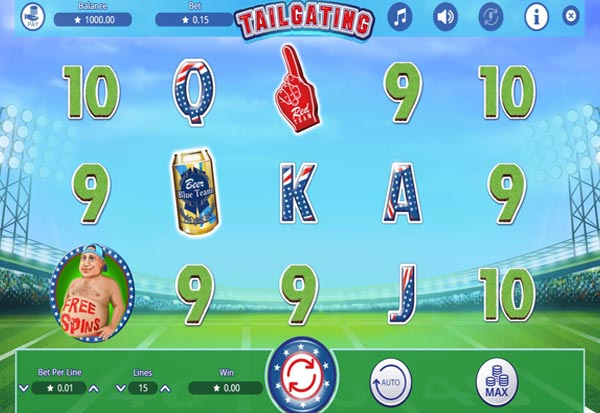 Tailgating 777 Slots Bay game