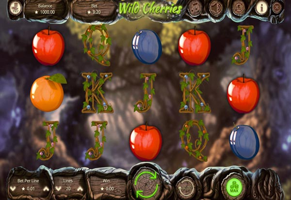 Wild Cherries 777 Slots Bay game