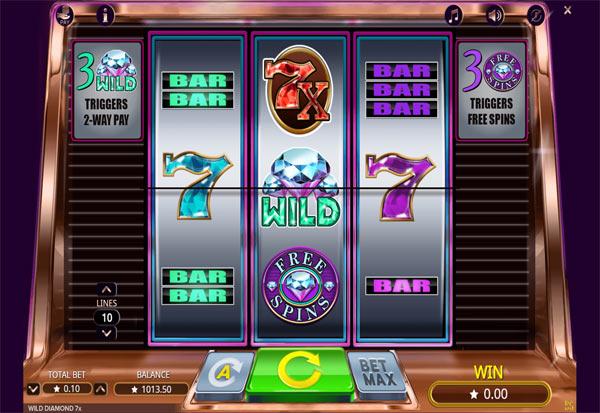 Wild Diamond 777 Slots Bay game