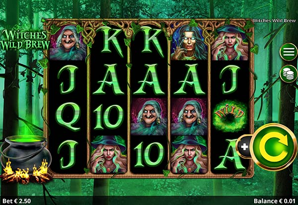 Witches Wild Brew 777 Slots Bay game