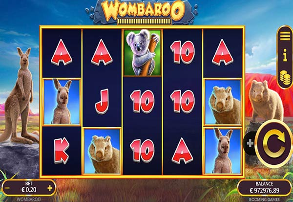 Wombaroo 777 Slots Bay game