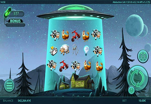 Abduction 777 Slots Bay game