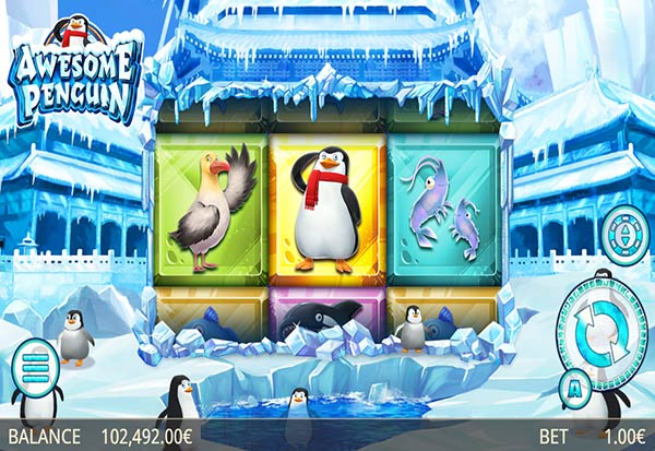 Awesome Penguin 777 Slots Bay game