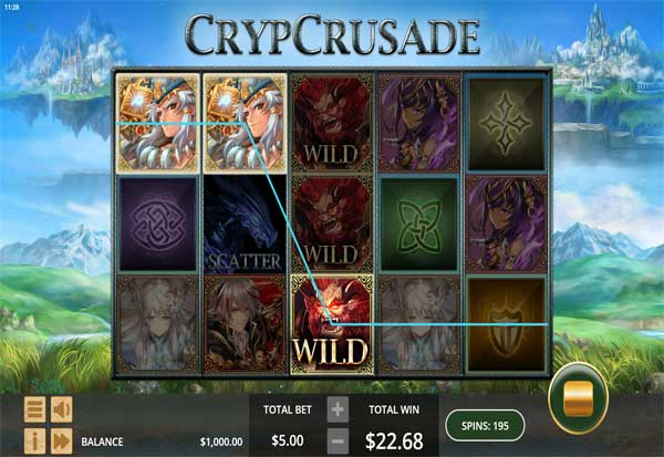 Cryp Crusade 777 Slots Bay game