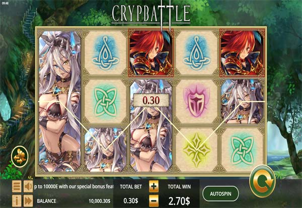 Crypbattle 777 Slots Bay game