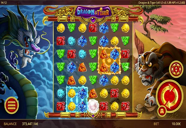 Dragon and Tiger 777 Slots Bay game